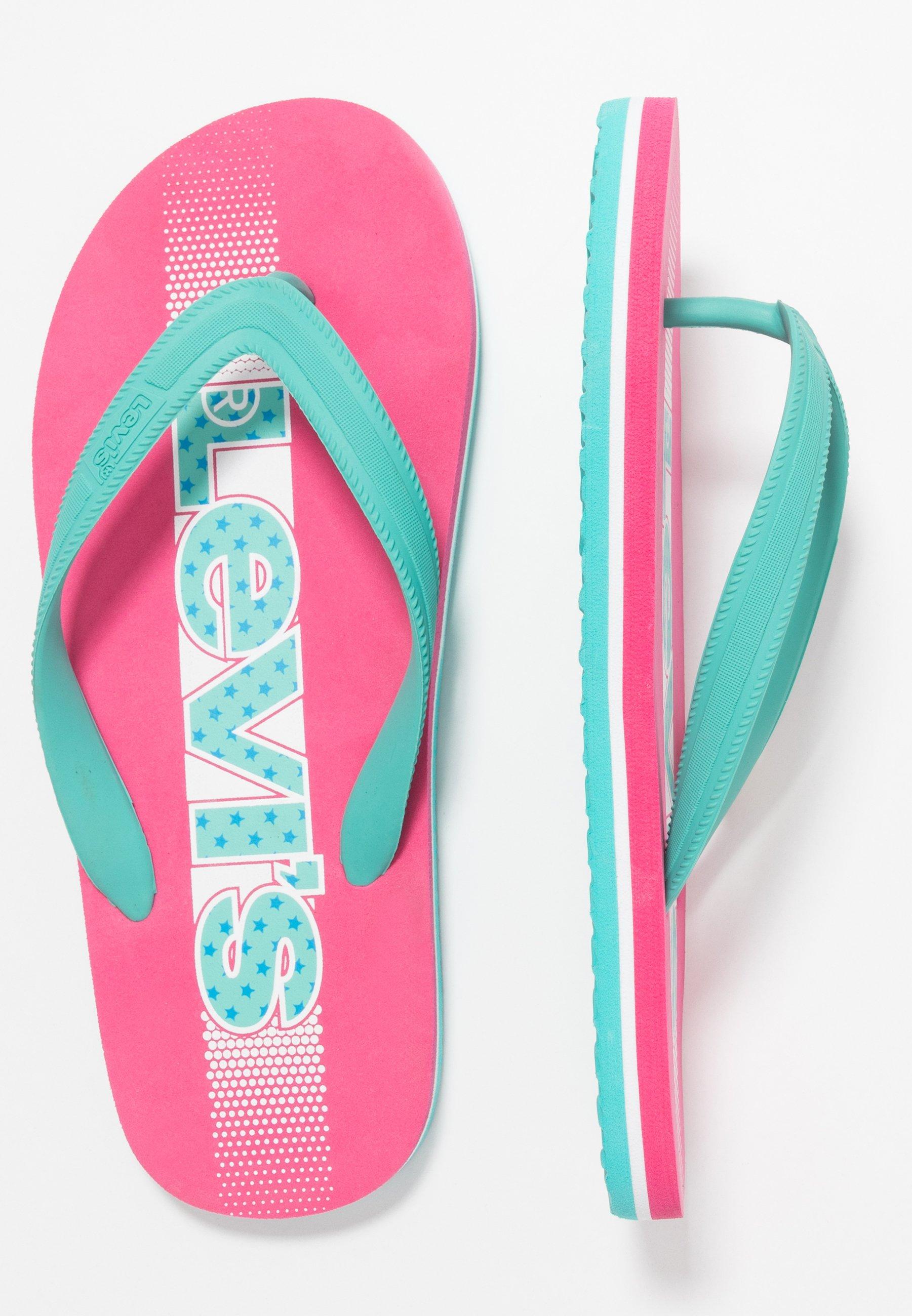 Levi's® VIRGINIA - Japonki kąpielowe - pink - Buty dla dzieci