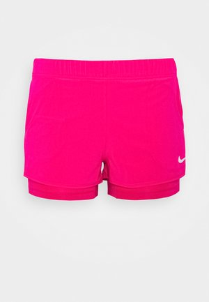 FLEX - Pantalón corto de deporte - vivid pink/white