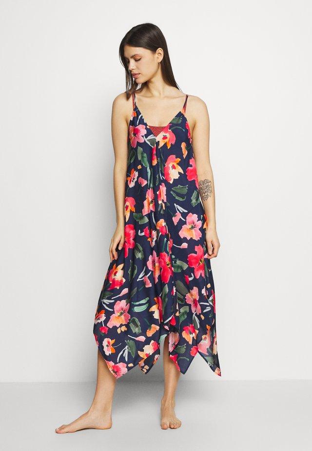 SUMMER MEMOIRS SCARF DRESS - Complementos de playa - indigo
