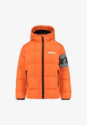TIRUR - Winter jacket - tiger orange