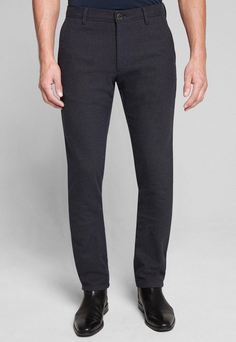 JOOP! Jeans - Chinos - navy gemustert