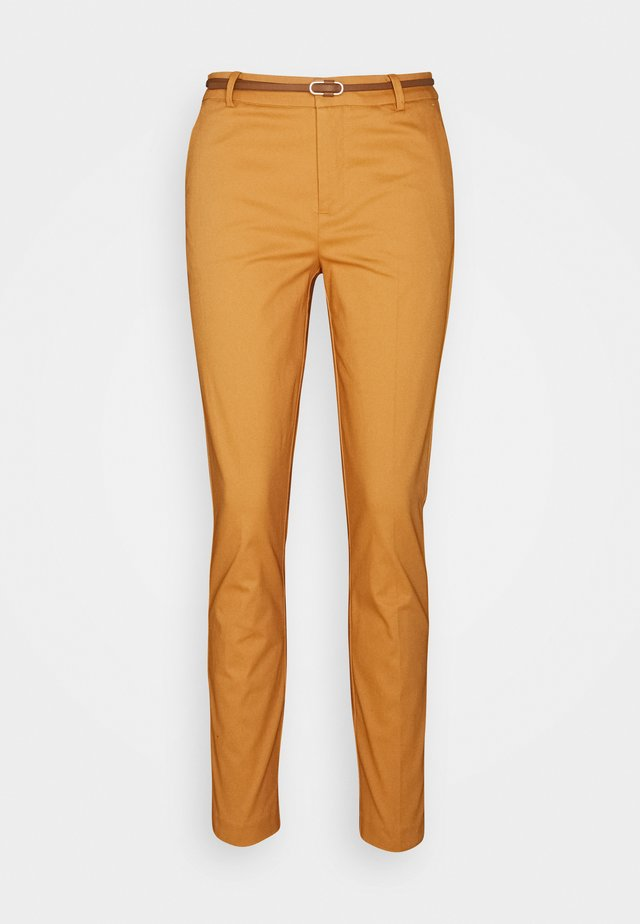 DAYS CIGARET PANTS  - Pantalones chinos - beige