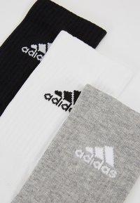 adidas Performance - CUSH 3 PACK - Sports socks - medium grey heather/black - 2