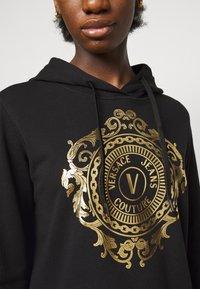 Versace Jeans Couture - Sweatshirt - black-gold - 5