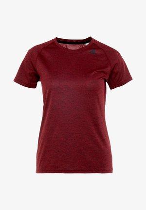 TECH PRIME - Camiseta estampada - active maroon/heather