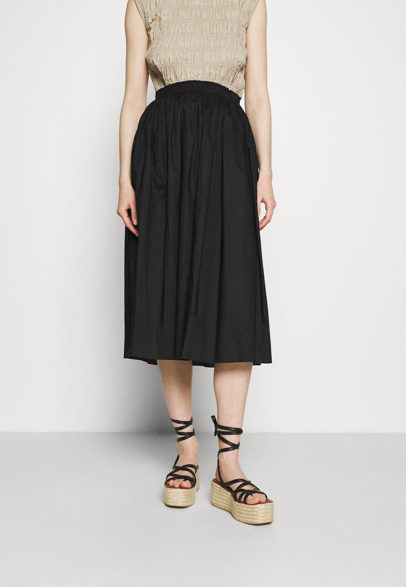 ARKET - SKIRT - A-line skirt - black