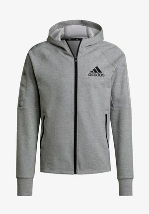 M MT FZ HD - Zip-up sweatshirt - grey