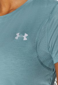 Under Armour - STREAKER SHORT SLEEVE - T-shirts - lichen blue - 4