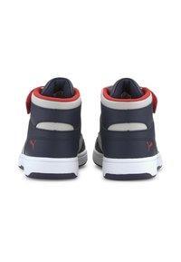 Puma - Chaussures de skate - peacoat gray violet h r red - 3