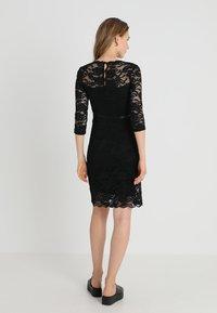 MAMALICIOUS - MLMIVANA DRESS - Vestido de cóctel - black - 2
