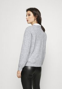 Pieces - PCPERLA  - Jumper - light grey melange - 2