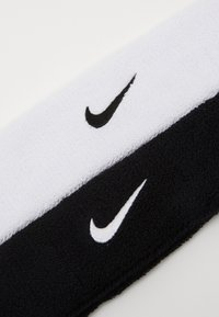 Nike Performance - HEADBAND 2 PACK - Varios accesorios - black/white - 4