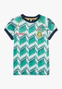 Hummel - HMLRUBEN  - Print T-shirt - everglade - 0