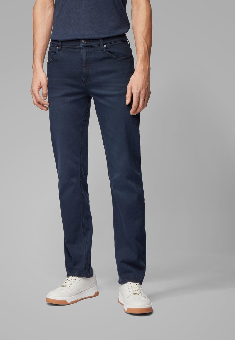 BOSS - Straight leg jeans - dark blue