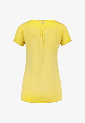 "KEY LARGO DAMEN T-SHIRT ""BASE"" - Print T-shirt - yellow"