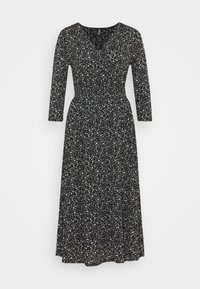 ONLY - ONLPELLA WRAP DRESS - Day dress - black - 4