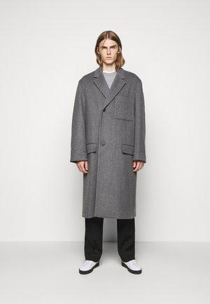 EXTENDED LAPEL COAT - Classic coat - charcoal gray