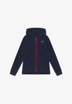 LOGO PATCH FULL ZIP - Fleecetakki - dress blues