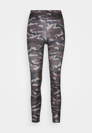 PRINTED SPORT  - Leggings - grey