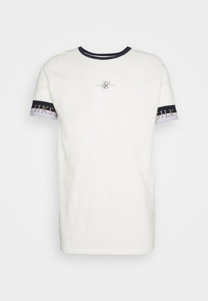 DELUXE RINGER TECH TEE - Basic T-shirt - off white