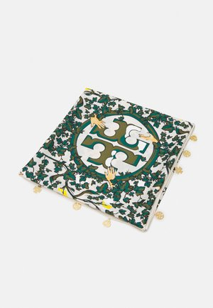 DAISY VINE SQUARE WITH CHARMS - Foulard - green