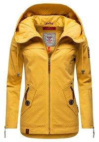 Navahoo - Light jacket - yellow mustard dots - 4