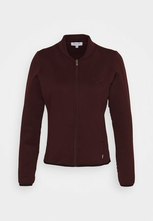 MEREZ JACKET - Fleece jacket - blackberry