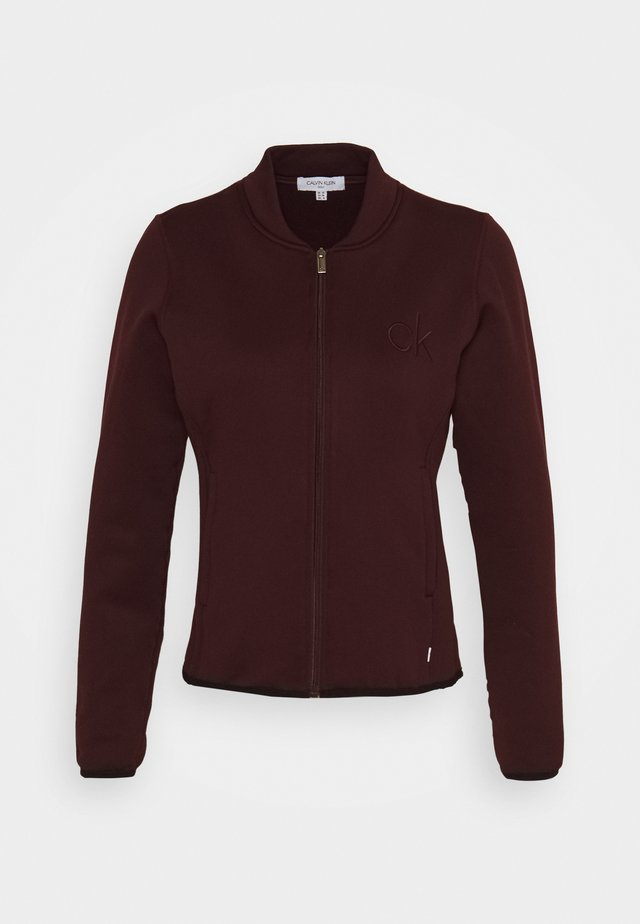 MEREZ JACKET - Veste polaire - blackberry