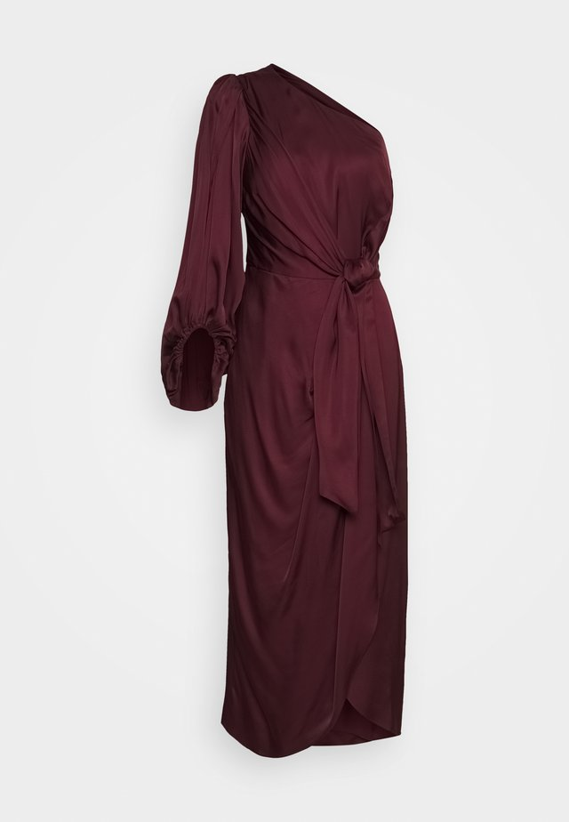 LEONTINE DRESS - Juhlamekko - deep wine