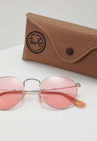 Ray-Ban - ROUND METAL - Solbriller - silver-coloured - 3