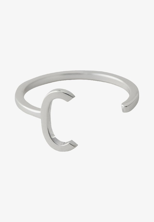 RING C - Ringe - silver
