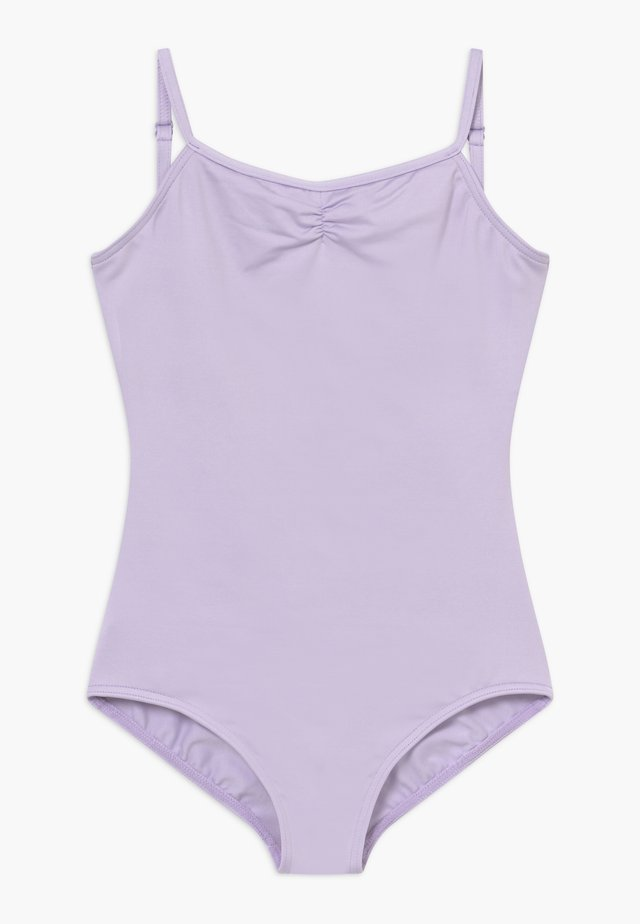 BALLET CAMI LEOTARD WITH ADJUSTABLE STRAPS - tanssipuku - lavender