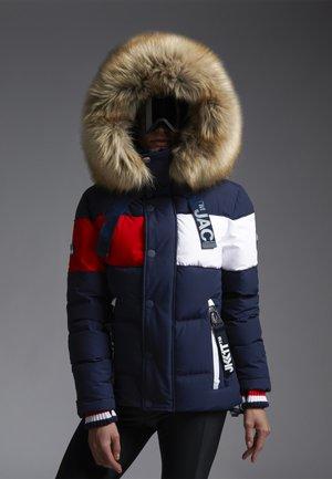 STREET  - Down jacket - navy/white/red