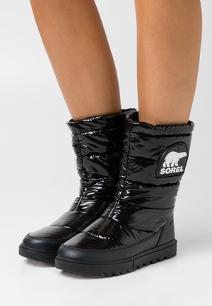 JOAN OF ARCTIC NEXT LITE MID PUFFY - Vinterstøvler - black