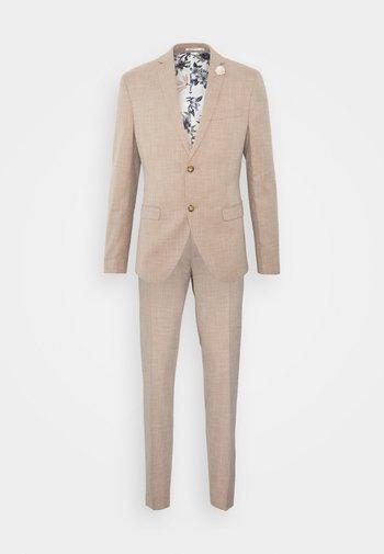 WEDDING COLLECTION - SLIM FIT SUIT - Suit - beige