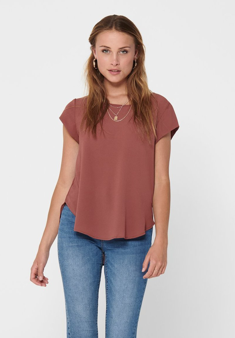 ONLY - ONLVIC SOLID  - Camiseta básica - apple butter