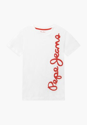 WALDO - T-shirt con stampa - optic white