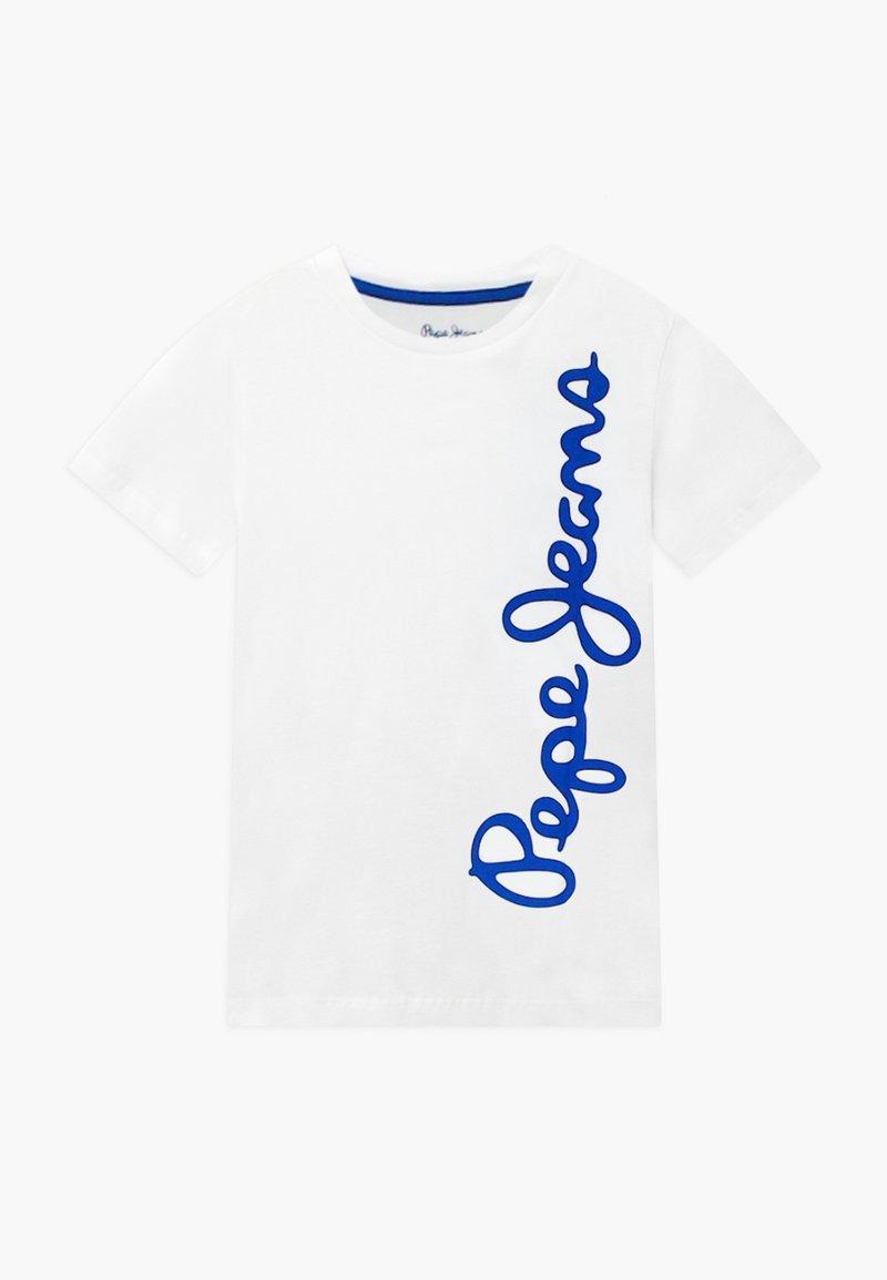 Pepe Jeans - WALDO - Print T-shirt - optic white
