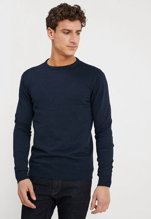 RUNDHALS - Jumper - deep navy