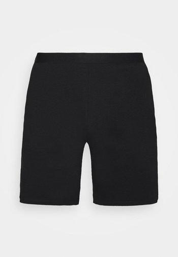 LOUNGE HENLEY SHORTS - Pyjama bottoms - black