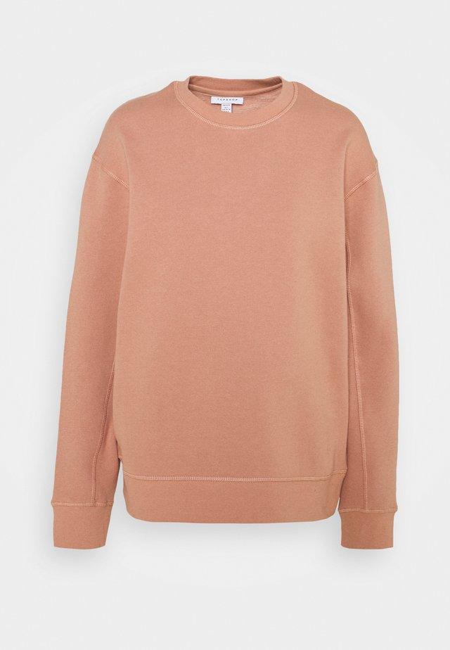 FLATLOCK - Sweatshirt - rose