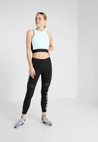 Puma - CROP - Top - fair aqua/black - 1