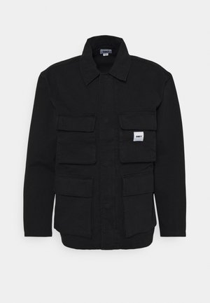 PEACE JACKET - Farkkutakki - black