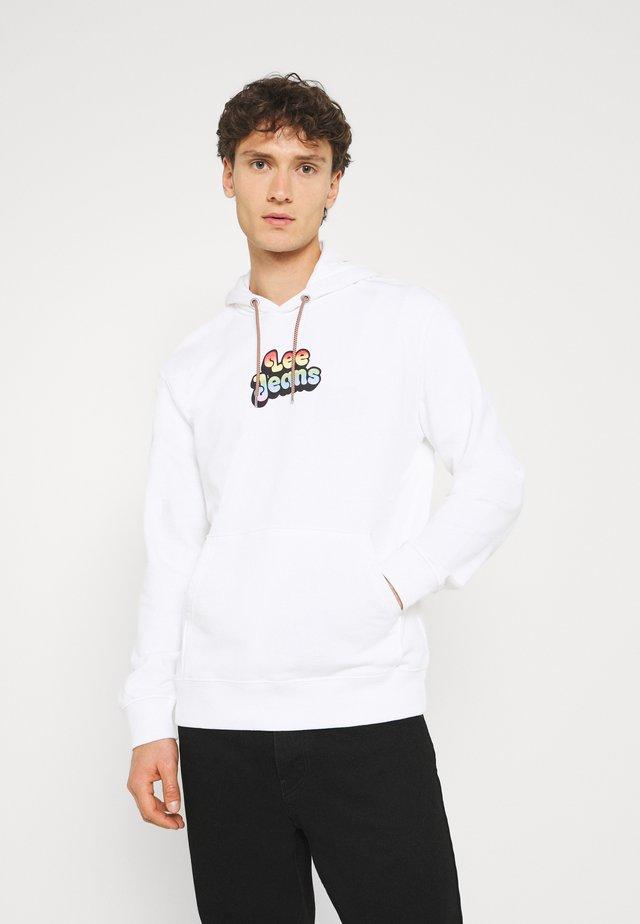 PRIDE HOODIE - Sweatshirt - white