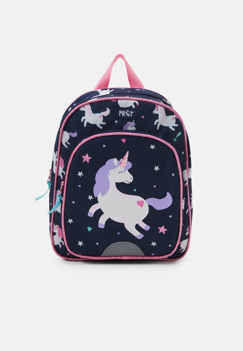 Kidzroom - BACKPACK PRÊT LITTLE SMILES UNISEX - Rucksack - navy