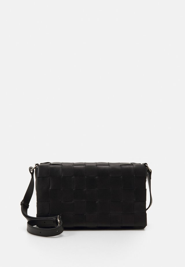 SYLVIA CROSSBODY - Schoudertas - black