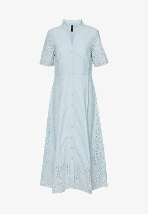 YASHOLI LONG  SHIRT DRESS  - Maxi dress - cool blue