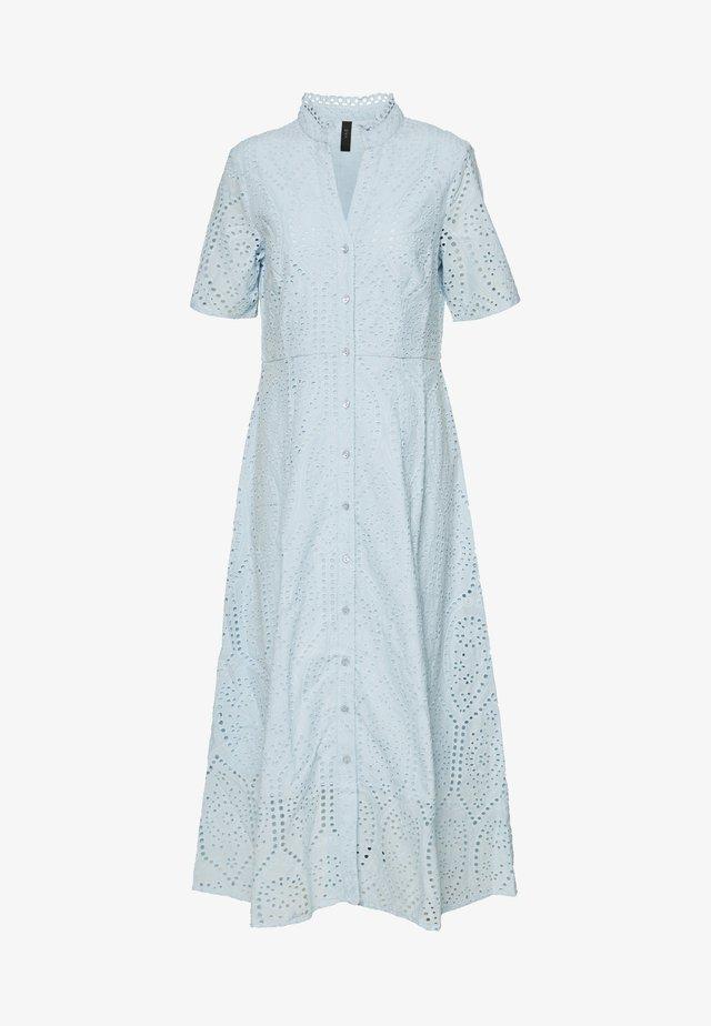 YASHOLI LONG  SHIRT DRESS  - Maxikjole - cool blue