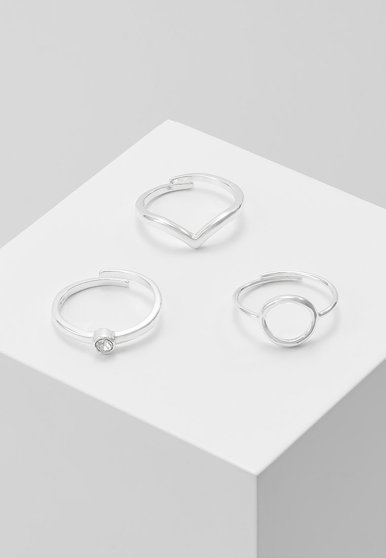 Pilgrim - SPECIAL DESIGN 3 PACK - Ring - silver-coloured