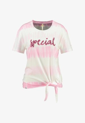 WT SPECIAL ROUND - Print T-shirt - pink